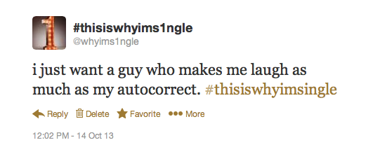 an (autocorrect) sense of humor