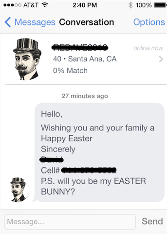 okstupid: easter